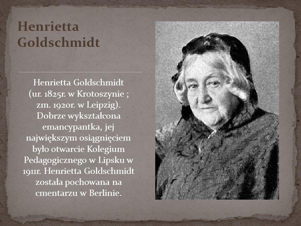 Henrietta Goldschmidt