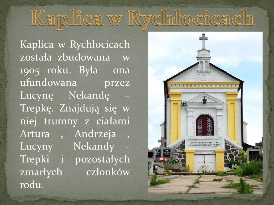 Kaplica w Rychłocicach