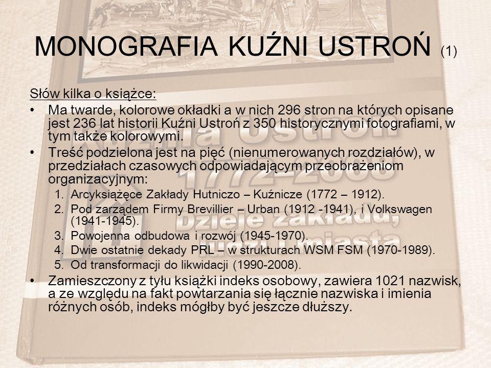 MONOGRAFIA KUŹNI USTROŃ (1)