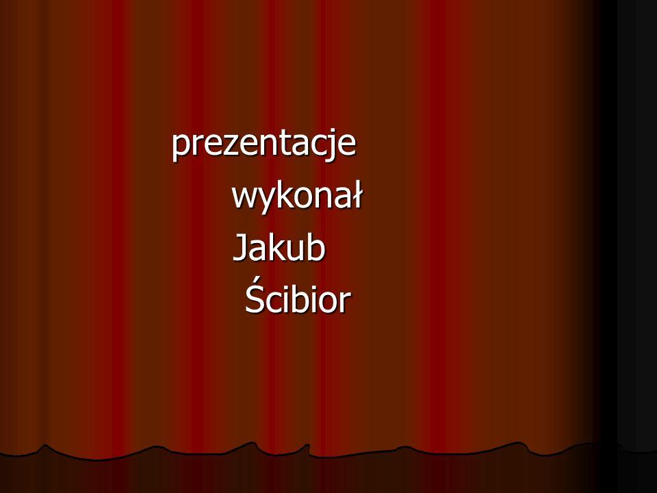 prezentacje wykonał Jakub Ścibior