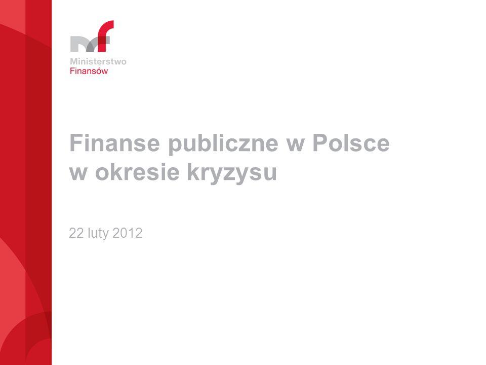 Finanse publiczne w Polsce w okresie kryzysu
