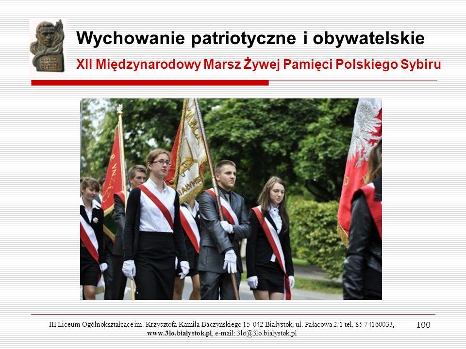 Wychowanie patriotyczne i obywatelskie