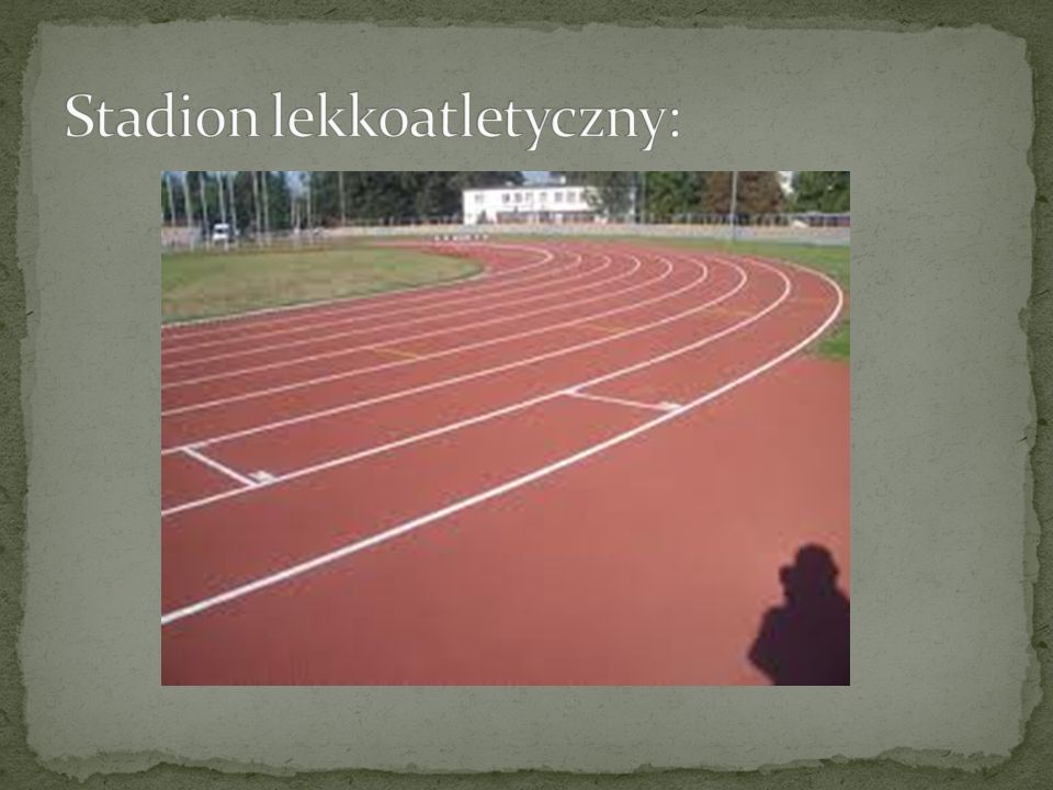 Stadion lekkoatletyczny: