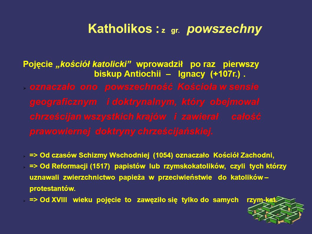 Katholikos : z gr. powszechny