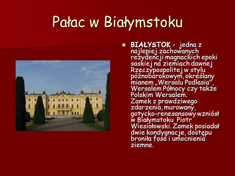 Pałac w Białymstoku