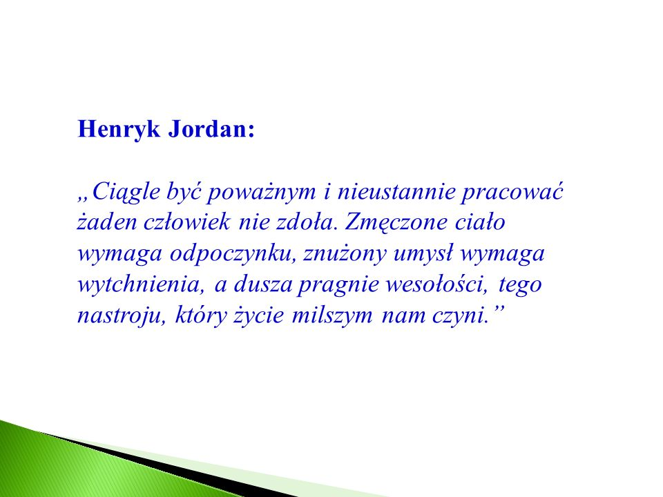 Henryk Jordan: