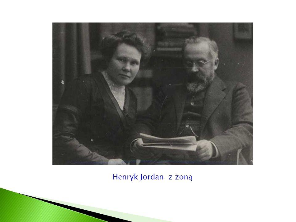 Henryk Jordan z żoną
