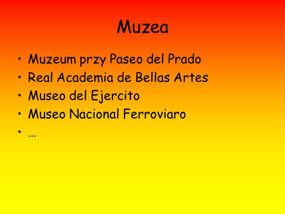Muzea Muzeum przy Paseo del Prado Real Academia de Bellas Artes