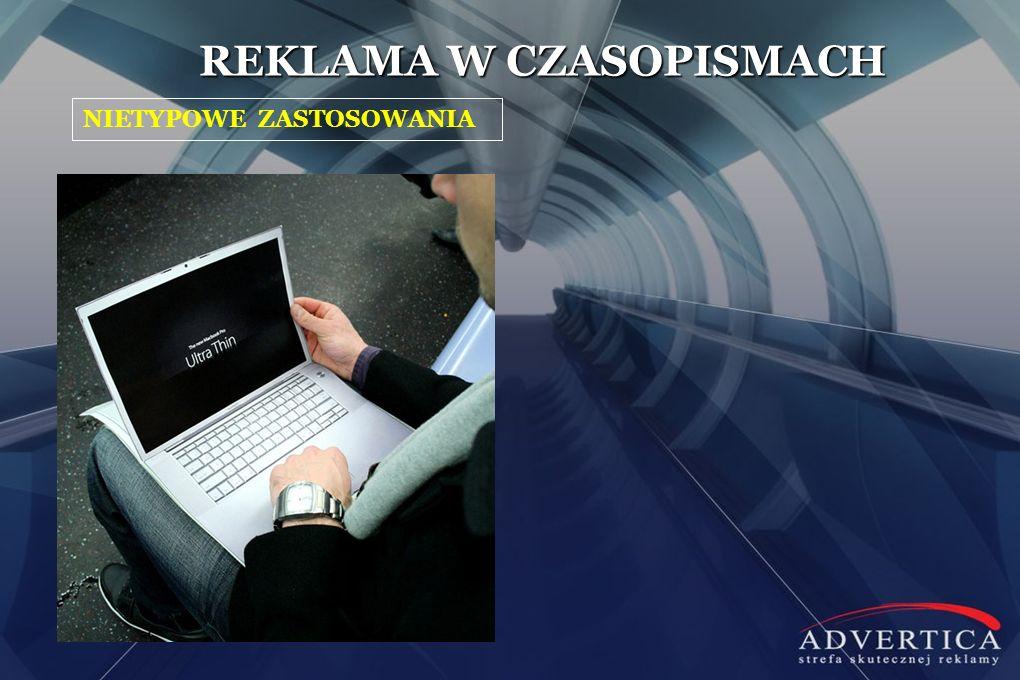 REKLAMA W CZASOPISMACH