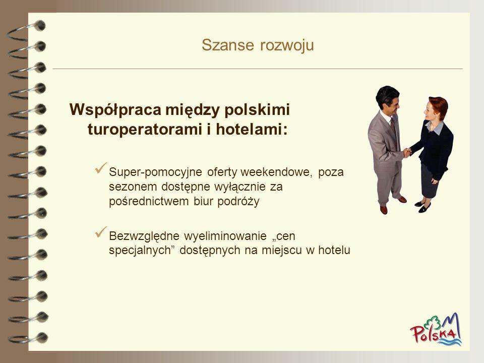 Współpraca między polskimi turoperatorami i hotelami: