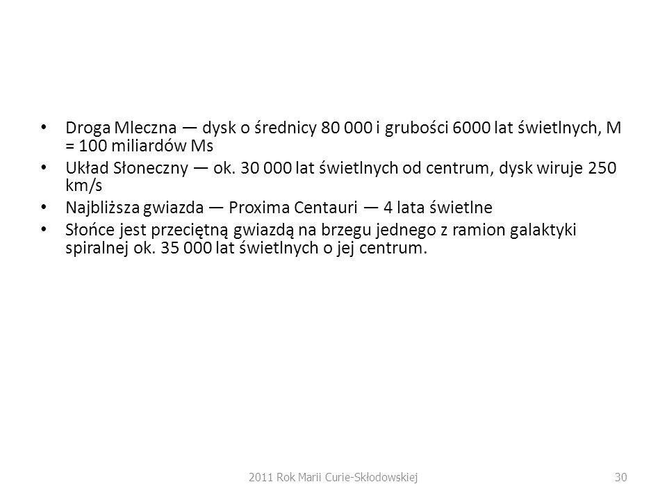 2011 Rok Marii Curie-Skłodowskiej