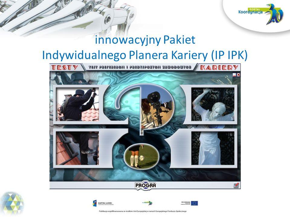 innowacyjny Pakiet Indywidualnego Planera Kariery (IP IPK)