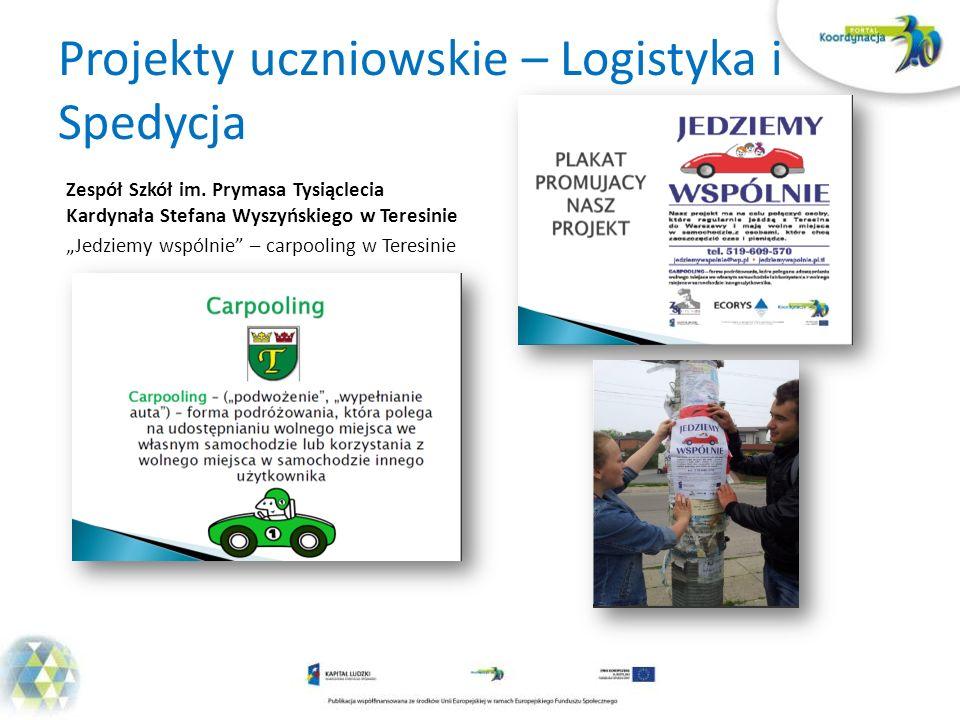 Projekty uczniowskie – Logistyka i Spedycja