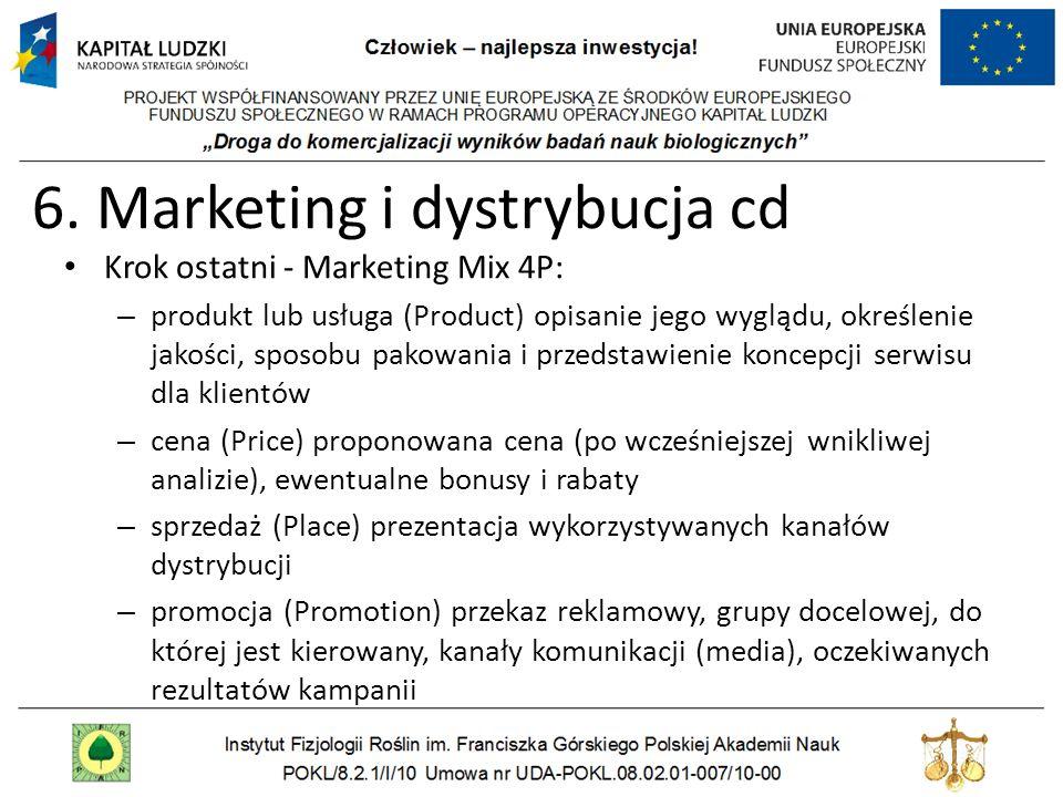 6. Marketing i dystrybucja cd