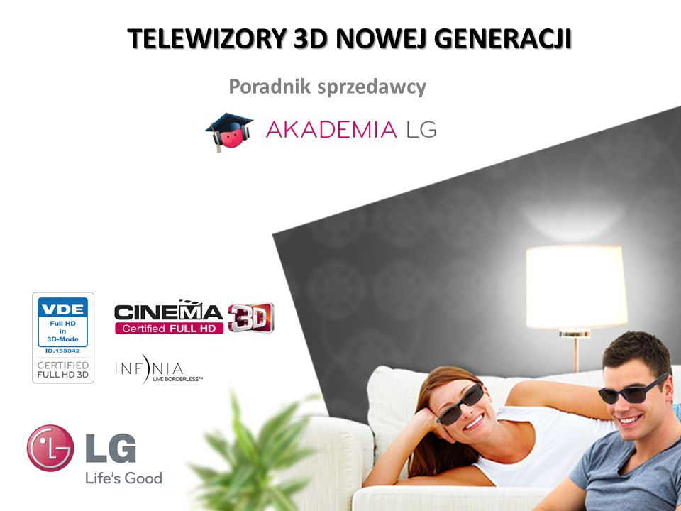 TELEWIZORY 3D NOWEJ GENERACJI