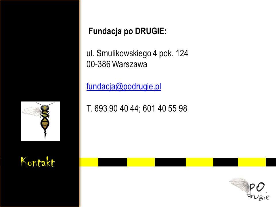 Fundacja po DRUGIE: ul. Smulikowskiego 4 pok