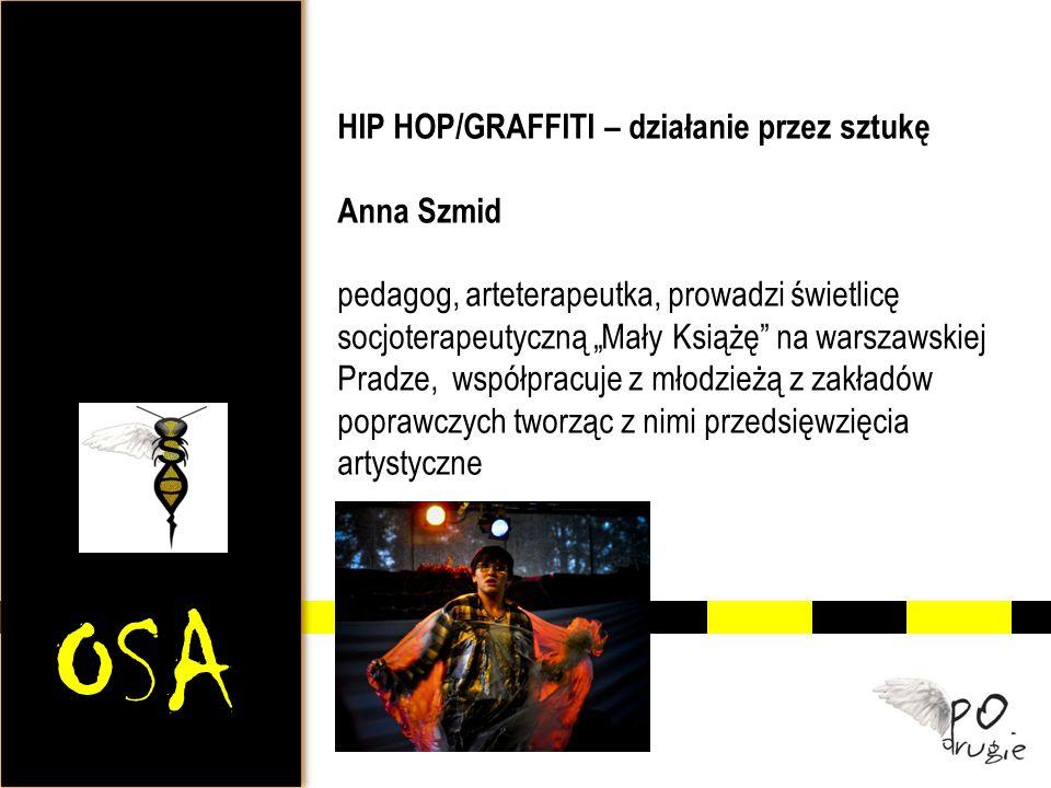 OSA HIP HOP/GRAFFITI – działanie przez sztukę Anna Szmid