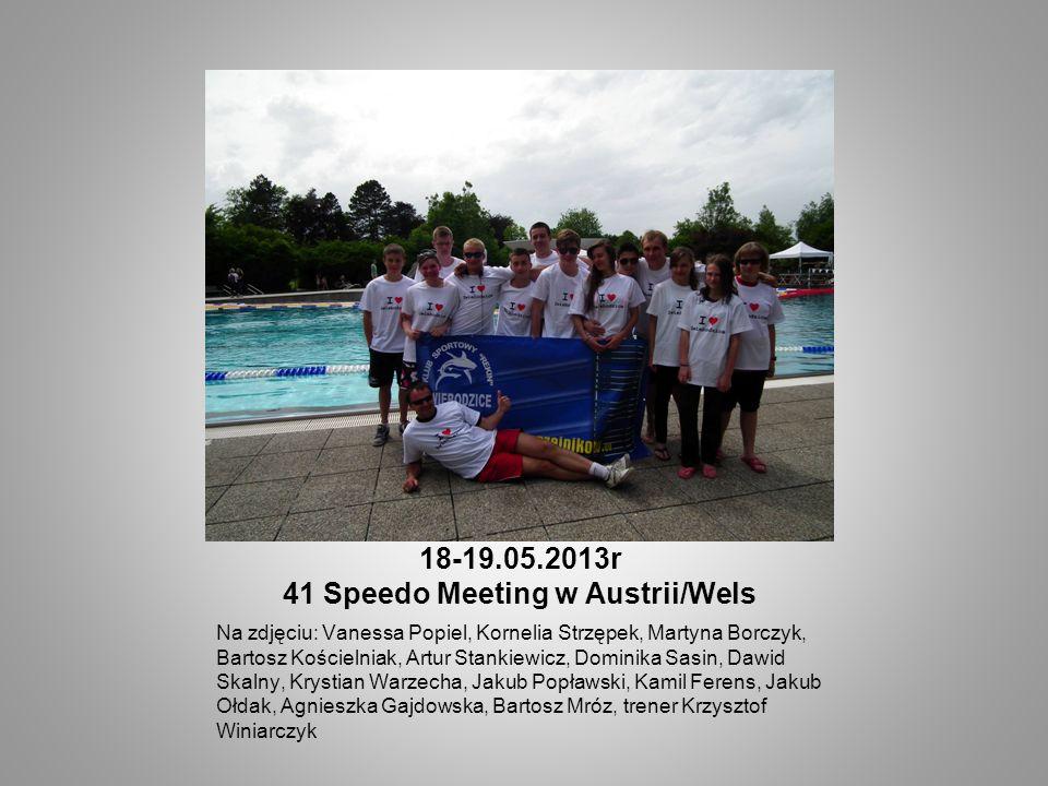 18-19.05.2013r 41 Speedo Meeting w Austrii/Wels