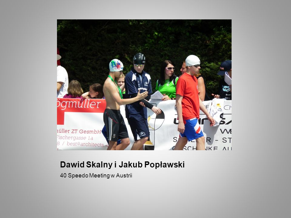 Dawid Skalny i Jakub Popławski
