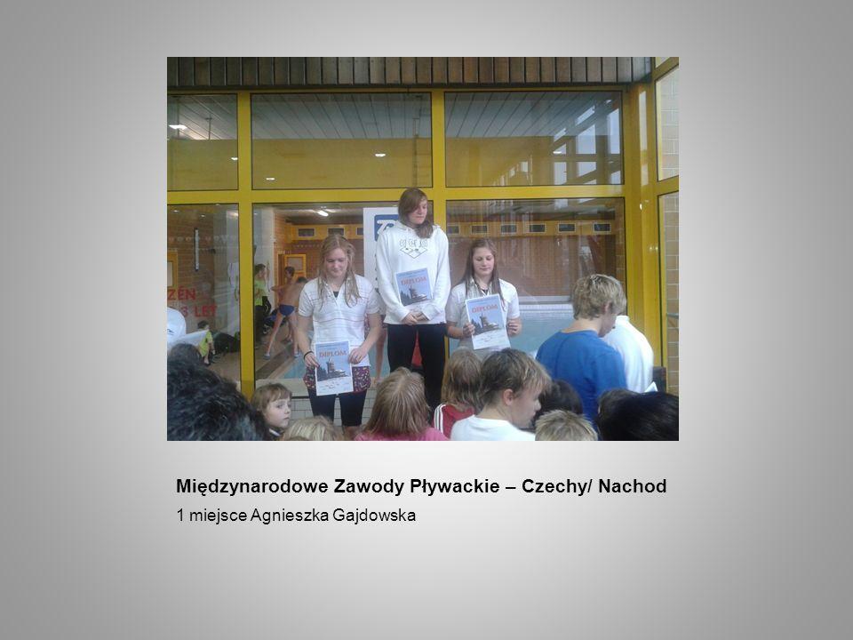 Międzynarodowe Zawody Pływackie – Czechy/ Nachod