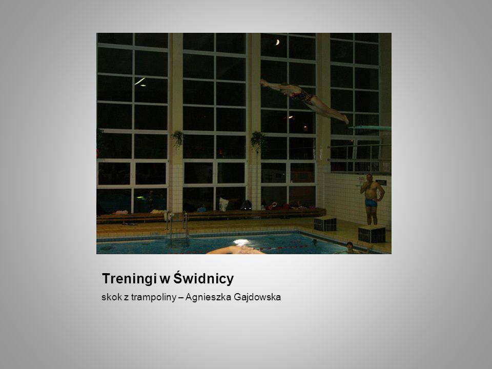 Treningi w Świdnicy skok z trampoliny – Agnieszka Gajdowska
