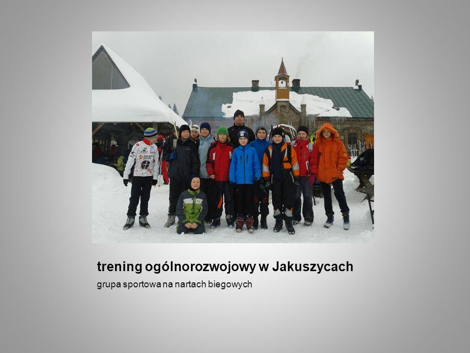 trening ogólnorozwojowy w Jakuszycach