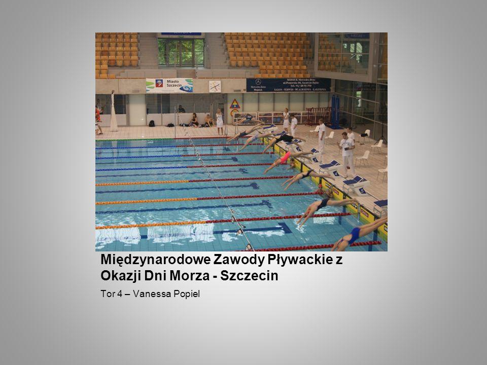 Międzynarodowe Zawody Pływackie z Okazji Dni Morza - Szczecin