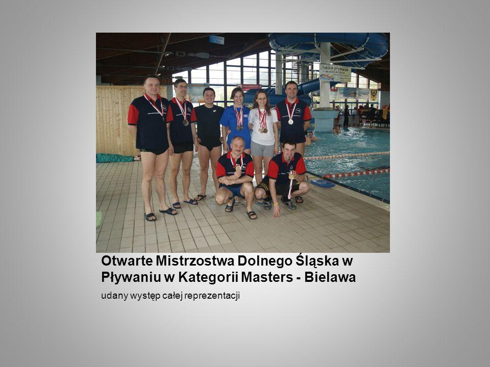 Otwarte Mistrzostwa Dolnego Śląska w Pływaniu w Kategorii Masters - Bielawa