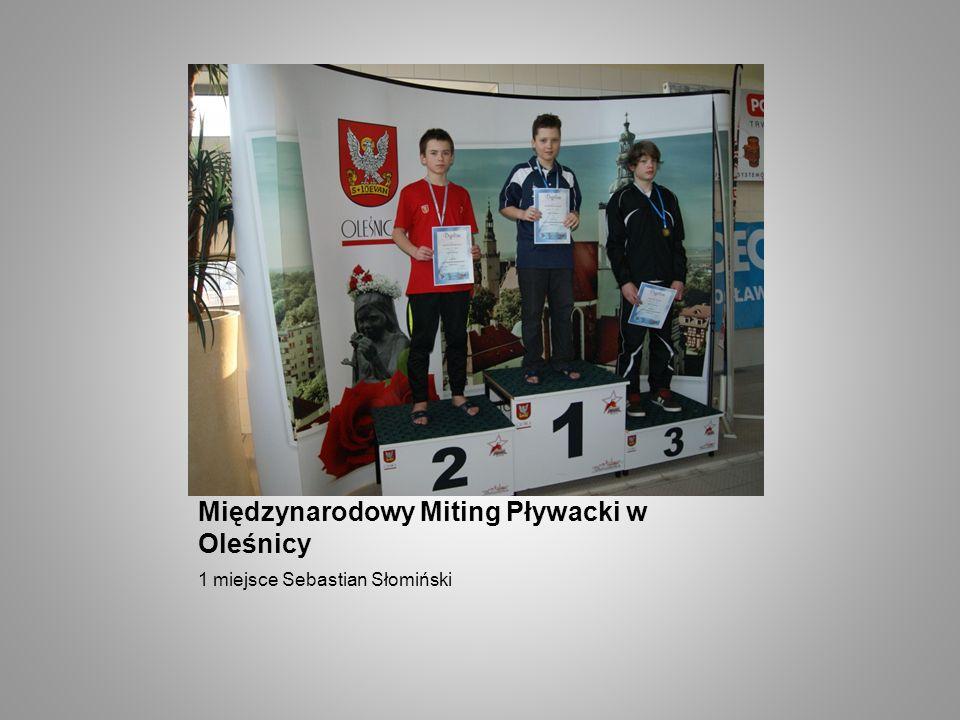 Międzynarodowy Miting Pływacki w Oleśnicy