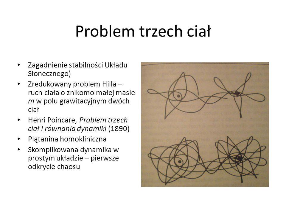 Problem trzech ciał Zagadnienie stabilności Układu Słonecznego)
