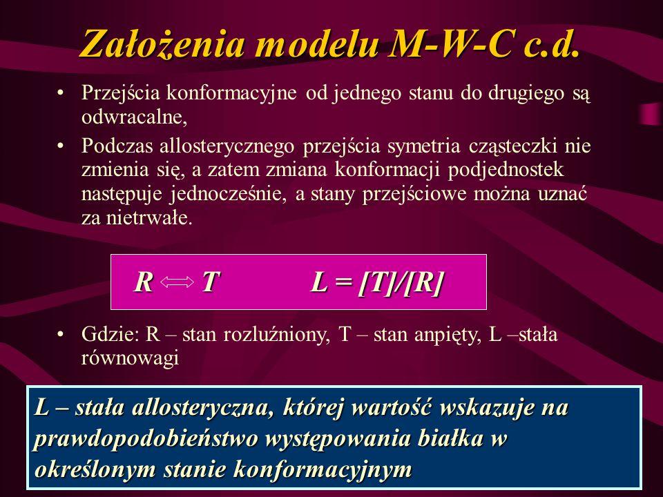 Założenia modelu M-W-C c.d.