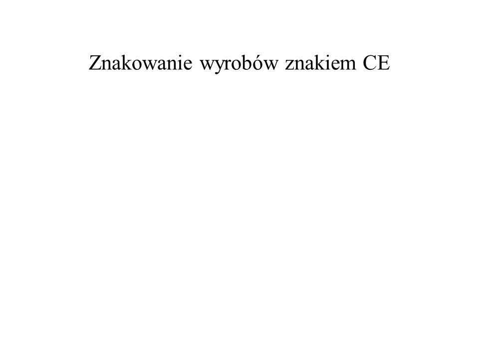 Znakowanie wyrobów znakiem CE