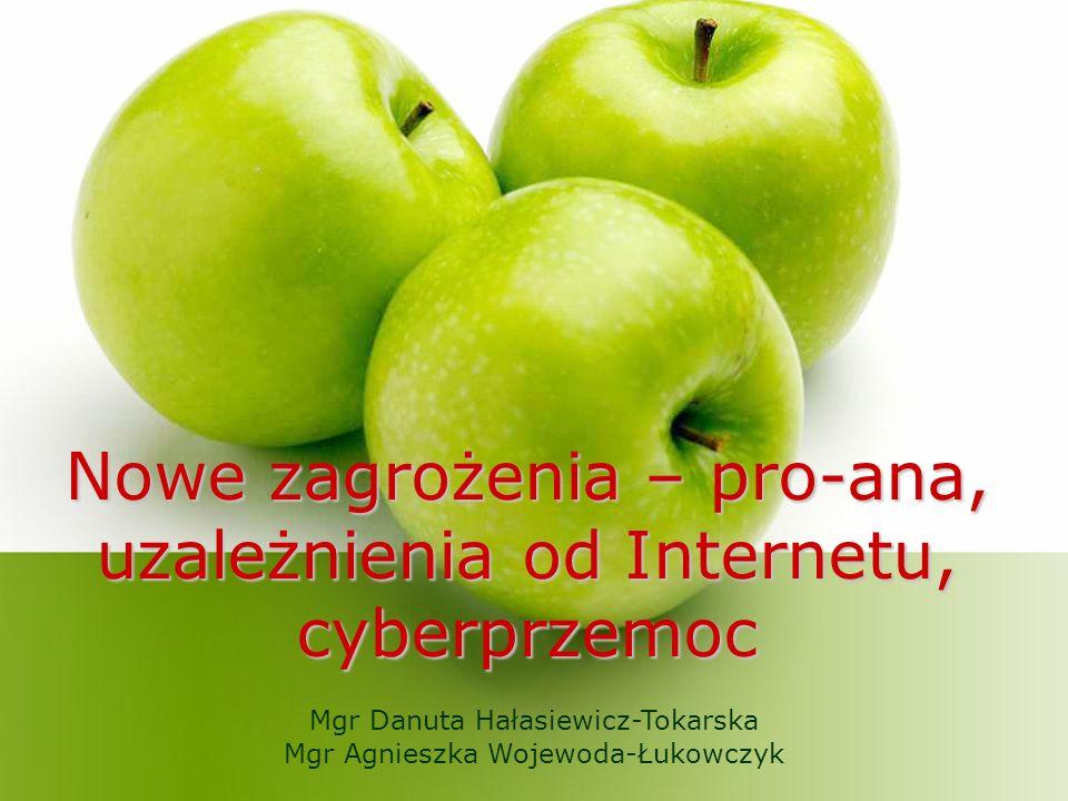 Nowe zagrożenia – pro-ana, uzależnienia od Internetu, cyberprzemoc