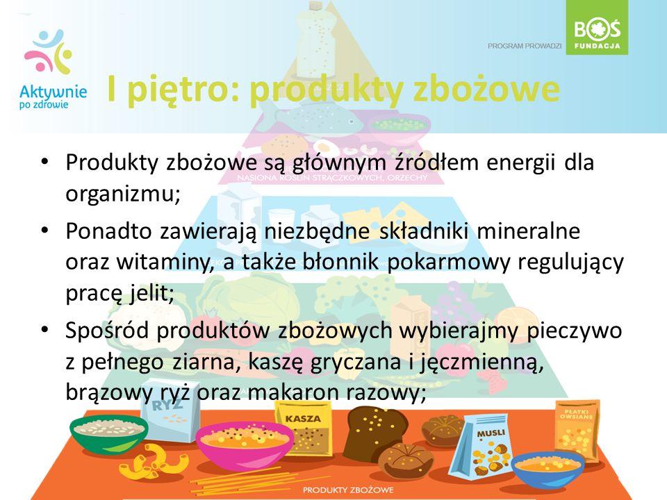 I piętro: produkty zbożowe