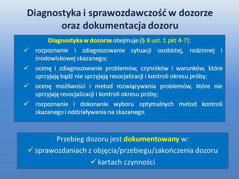Diagnostyka i sprawozdawczość w dozorze oraz dokumentacja dozoru