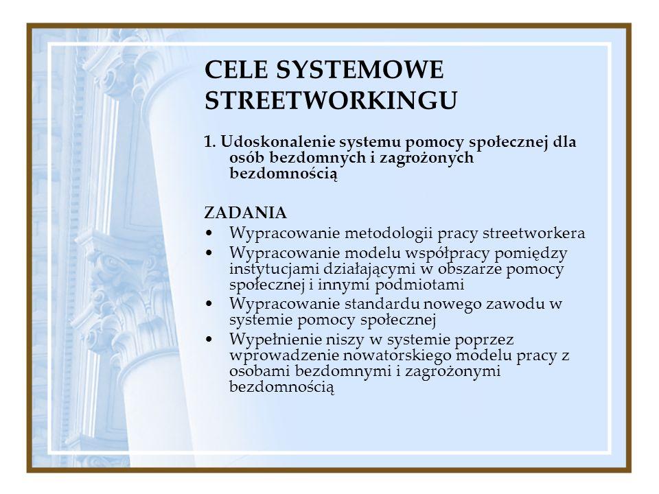 CELE SYSTEMOWE STREETWORKINGU