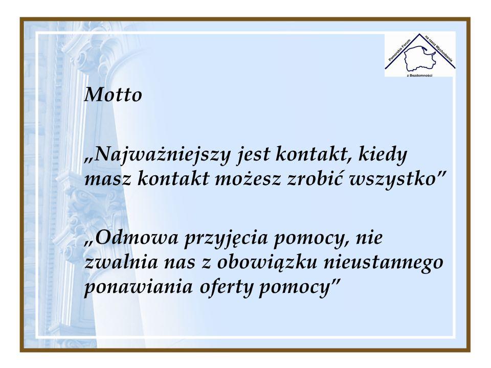 """Motto""""Najważniejszy jest kontakt, kiedy masz kontakt możesz zrobić wszystko"""