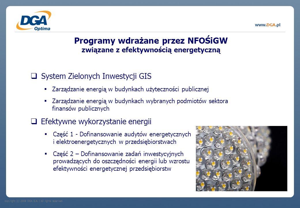 Programy wdrażane przez NFOŚiGW związane z efektywnością energetyczną