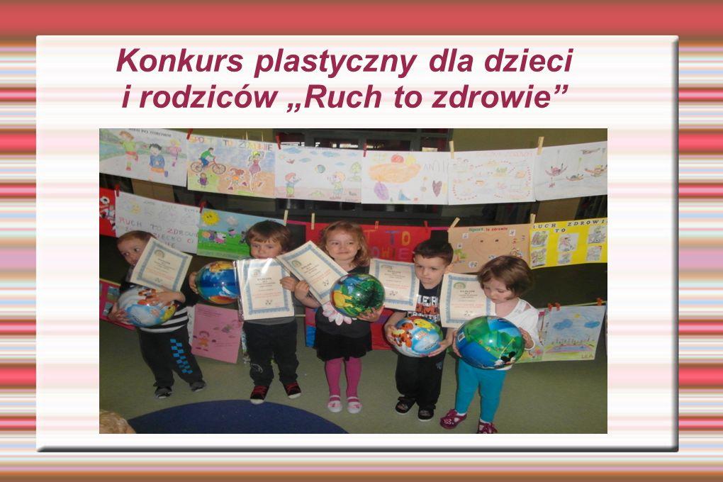 """Konkurs plastyczny dla dzieci i rodziców """"Ruch to zdrowie"""