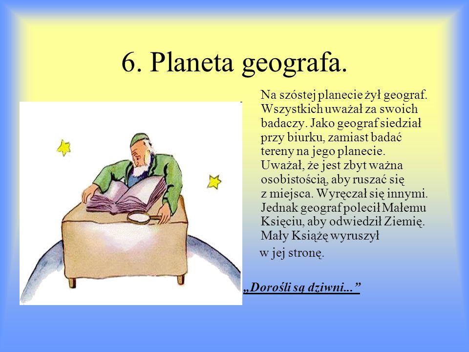 6. Planeta geografa.