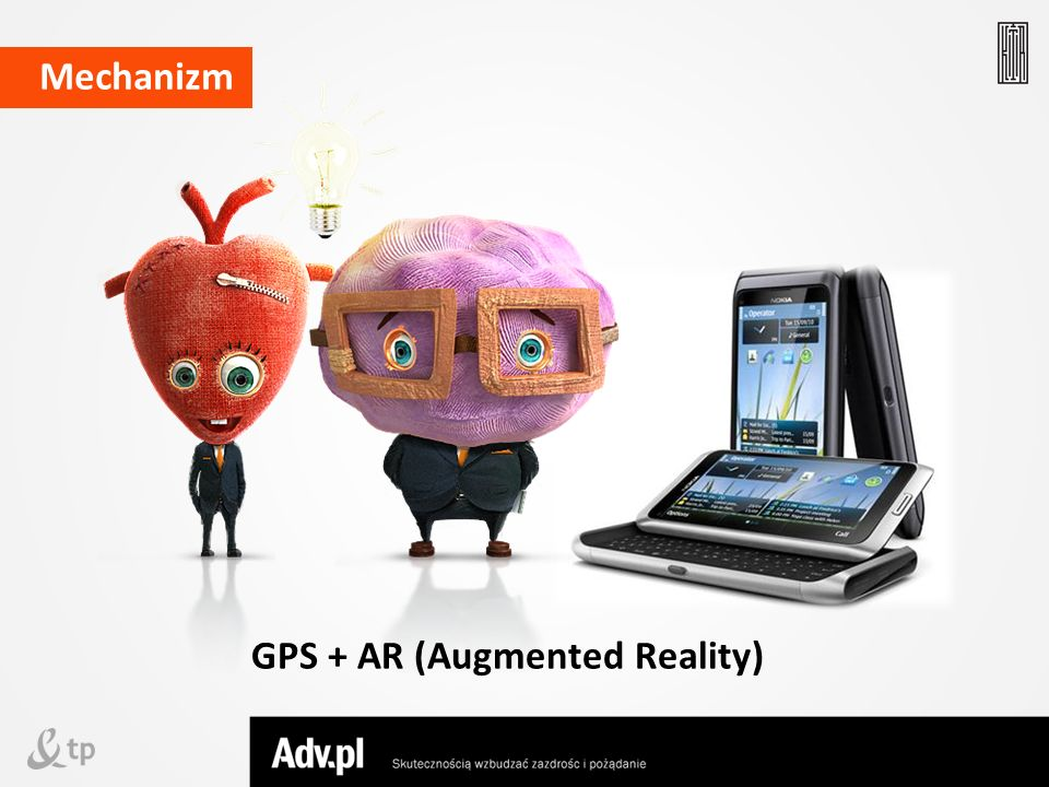 GPS + AR (Augmented Reality)
