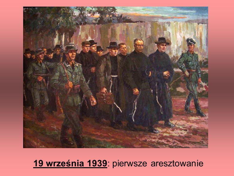 19 września 1939: pierwsze aresztowanie