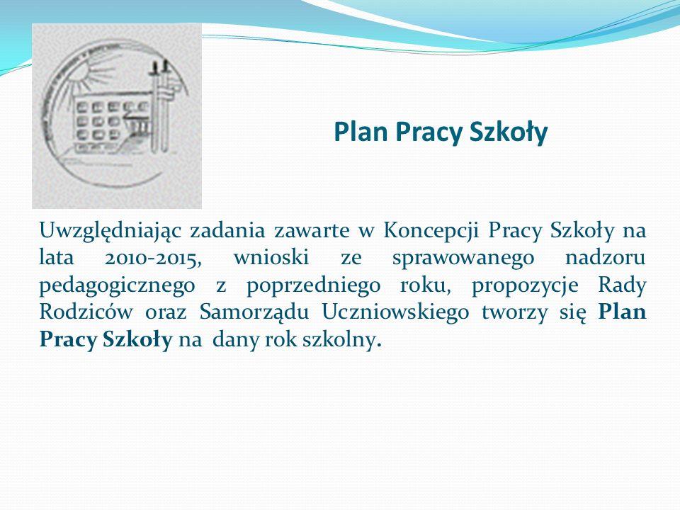 Plan Pracy Szkoły