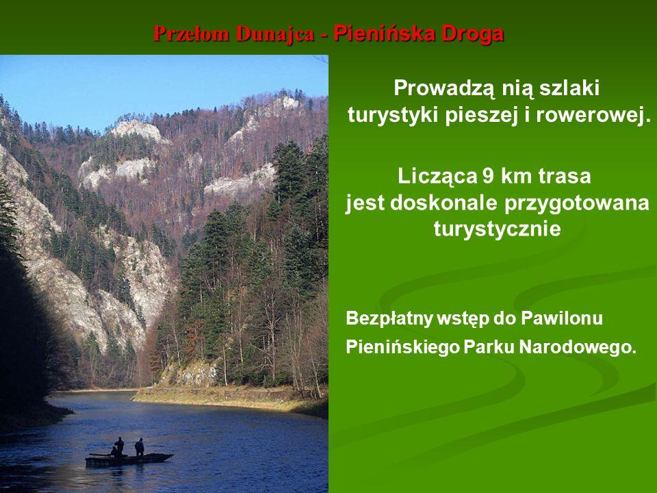 Przełom Dunajca - Pienińska Droga