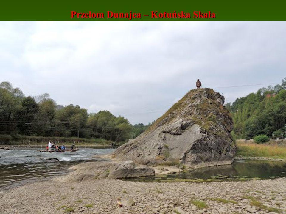 Przełom Dunajca – Kotuńska Skała