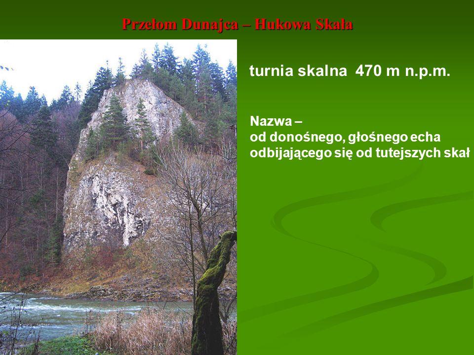 Przełom Dunajca – Hukowa Skała
