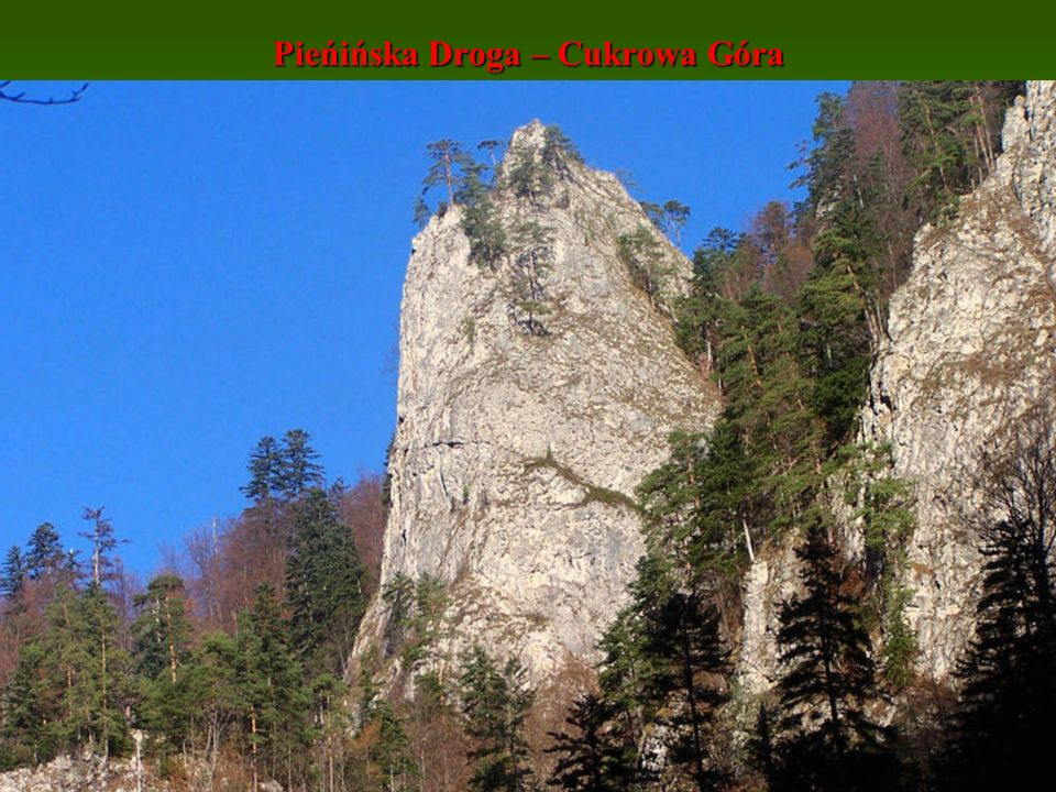 Pieńińska Droga – Cukrowa Góra