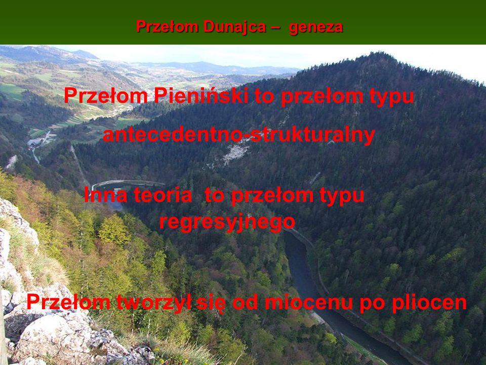 Przełom Dunajca – geneza