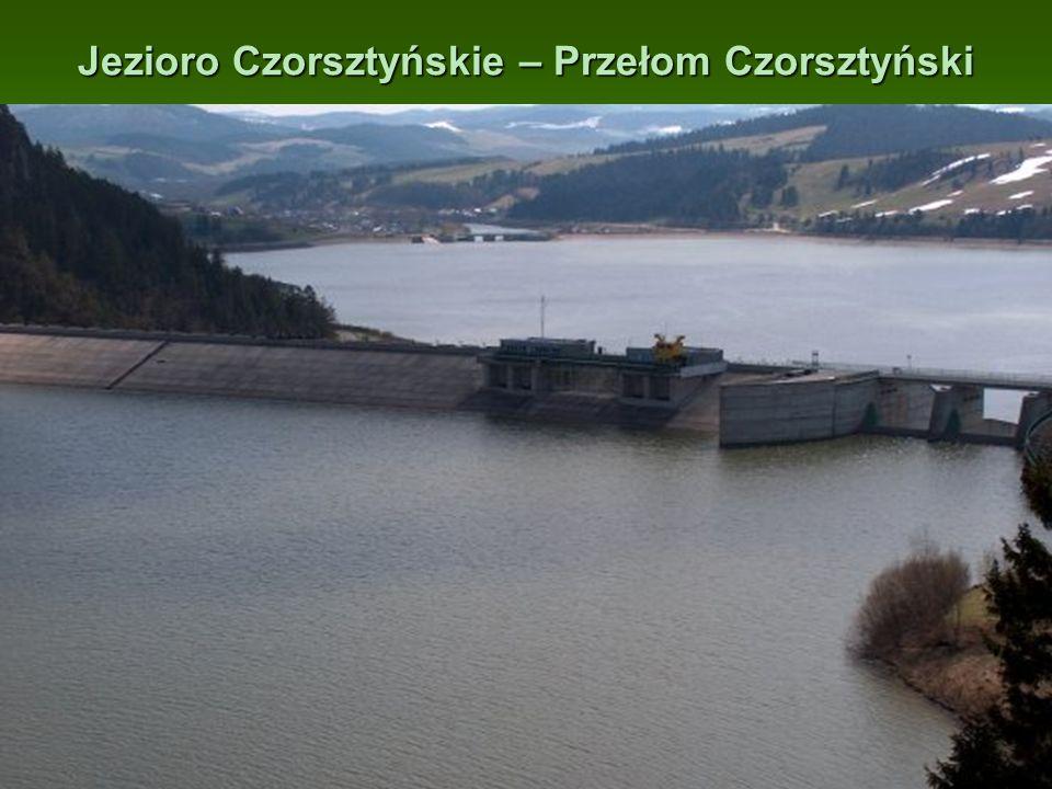 Jezioro Czorsztyńskie – Przełom Czorsztyński