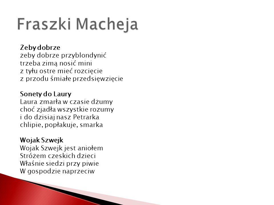 Fraszki Macheja